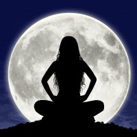 Sitting with the Full Moon