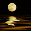 Drawing Down the Moon, into Water